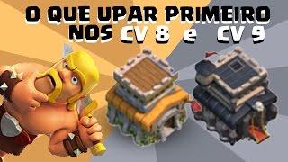 getlinkyoutube.com-Que DEFESAS ATUALIZAR (UPAR) PRIMEIRO NO CV 8 e CV 9 no Clash of Clans