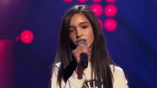 getlinkyoutube.com-Dina – 'See You Again' | Blind Audition | The Voice Kids | VTM