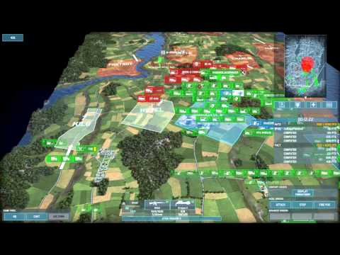 Wargame Airland Battle beta. A Draw