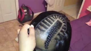 getlinkyoutube.com-how to sew in hair : folding method