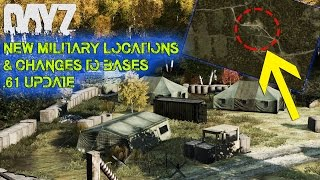 getlinkyoutube.com-DayZ Standalone: .61 Update | NEW Military Locations & Base Changes! (DayZ 0.61 Update Showcase)