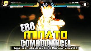 getlinkyoutube.com-Naruto Ultimate Ninja Storm Revolution - Combo/Tilt Cancel Tutorial - EDO MINATO