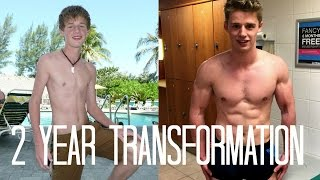 getlinkyoutube.com-19 Year Old Motivational Teen Body Transformation | SKINNY TO SHREDDED