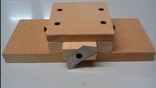 getlinkyoutube.com-How to make a Wood Strip Cutter