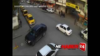 Erzincan'daki trafik kazaları MOBESE kameralarınca görüntülendi