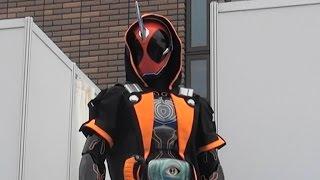 getlinkyoutube.com-【仮面ライダーゴースト】キャラクターショー 第1話 「命、燃やすぜ!」 Kamen Rider Ghost
