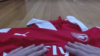 getlinkyoutube.com-AliExpress REVIEW ARSENAL SANCHEZ LONG SLEEVE #17 REPLICA
