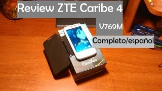 getlinkyoutube.com-ZTE V769M Caribe 4 review(analisis) Unboxing