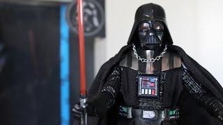 getlinkyoutube.com-Star Wars Black Series Darth Vader figure review