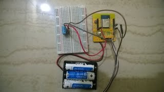 getlinkyoutube.com-Esp8266 esp12 | DHT11| Thingspeak| Temperature and Humidity