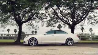 "getlinkyoutube.com-Mercedes Benz S63 AMG on 22"" Vossen VVS-CV3 Concave Wheels / Rims"