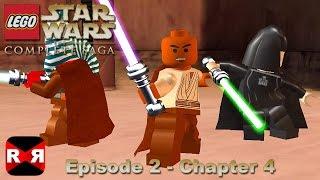 getlinkyoutube.com-LEGO Star Wars: The Complete Saga - Episode 2 Chp. 4 - iOS / Android - Walkthrough Gameplay