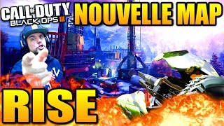 """BLACK OPS 3: NOUVELLE MAP """"RISE"""" GAMEPLAY"""
