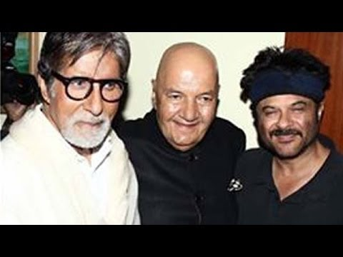 Amitabh Bachchan, Akshay Kumar, Anil Kapoor at Prem Chopra's biography LAUNCH