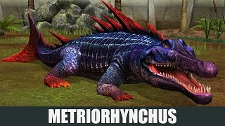 getlinkyoutube.com-METRIORHYNCHUS  LEVEL 40 - Jurassic World The Game