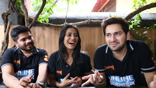 getlinkyoutube.com-Siddharth Chandekar, Hemant Dhome, Rutuja Shinde Talk about Online Binline