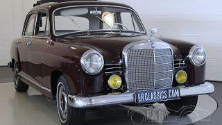 getlinkyoutube.com-Mercedes-Benz 190D Ponton 1961 - VIDEO - www.ERclassics.com