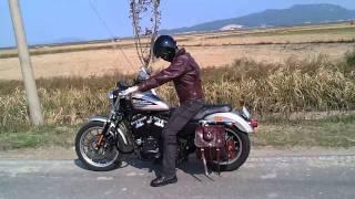 getlinkyoutube.com-Harley Davidson 883R