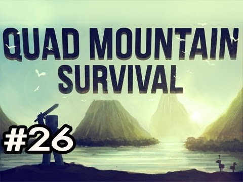 Minecraft: Quad Mountain Survival w/Nova Ep.26 - ALLIGATOR ATTACK!!