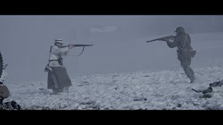 WW2 Battle of the Bulge Reenactment - Recogne- Cobru 2014