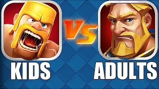 getlinkyoutube.com-ADULT VERSION OF CLASH OF CLANS!!🔸NEW iOS GAME CLONE🔸