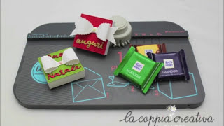 getlinkyoutube.com-Confezione Mini Ritter Sport con Gift box Punch Board We R Memory Keepers-Scrapbooking tutorial