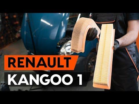 Как заменить воздушный фильтр на RENAULT KANGOO 1 (KC) [ВИДЕОУРОК AUTODOC]