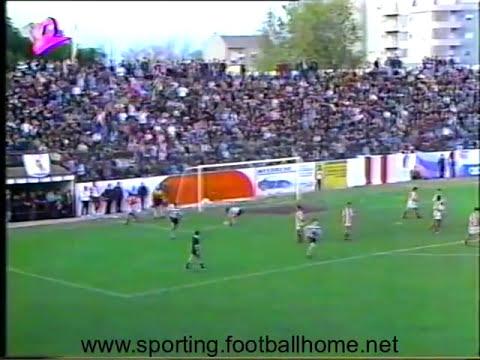 Barreirense - 0 x Sporting - 1 de 1992/1993, 4 Elim Taça Portugal