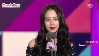 getlinkyoutube.com-[MongJi's House][Vietsub]Song Ji Hyo & Lee Kwang Soo in SBS Entertainment Award 2015