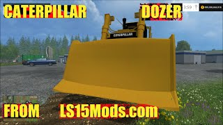 getlinkyoutube.com-Farming simulator 2015 Caterpillar D7R V 1.0