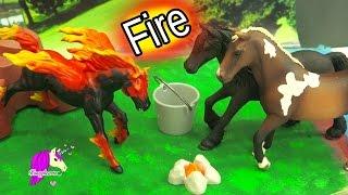 getlinkyoutube.com-The Fire Horse Legend - Schleich Horses Spooky Halloween Video - Honeyheartsc