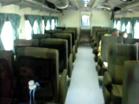Pakistan Railways 28Dn Shalimar Express Interior