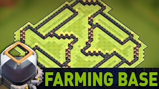 getlinkyoutube.com-Clash Of Clans - BEST TOWN HALL 9 (TH9) FARMING BASE DEFENSE!! NEVER SEEN BEFORE!! 2015 BASE BUILD
