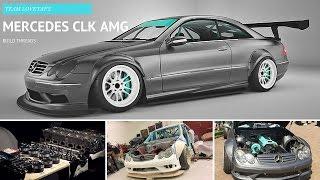 getlinkyoutube.com-Team Lovetap's Mercedes CLK 3.6L AMG