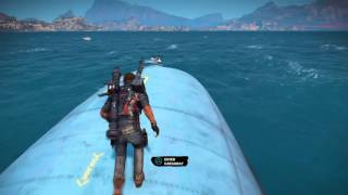 getlinkyoutube.com-Just Cause 3 Trick And Tips The Cargo Plane