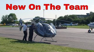 getlinkyoutube.com-Leicester FlyHeli Buys A New Guimbal Cabri G2 Helicopter