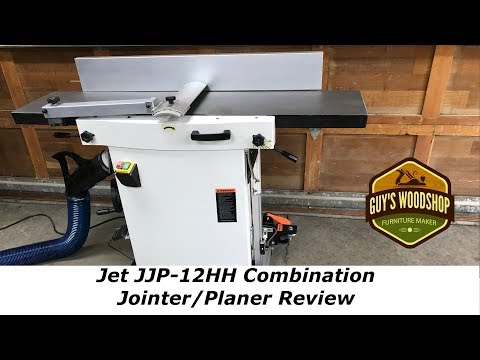 Review of the JET JJP-12 Jointer Planer after some time of use Youtube Thumbnail