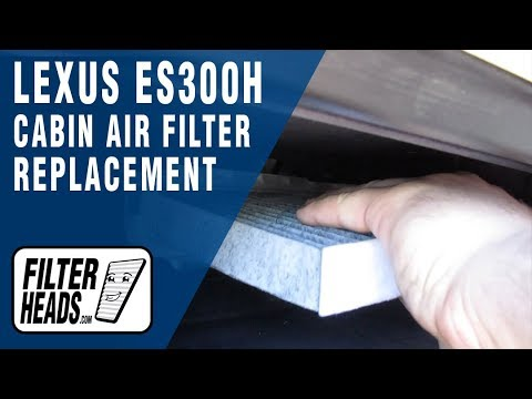 How to Replace Cabin Air Filter 2014 Lexus ES300h