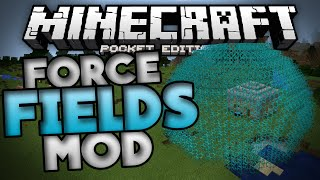 getlinkyoutube.com-FORCE FIELDS MOD for MCPE!!! - Remote Force Fields and Barriers - Minecraft PE (Pocket Edition)