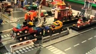 LEGO Train Crashes