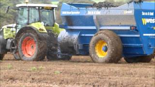 Harry West Dual Spreader Riverlea Working Demo Oct.2011