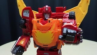 getlinkyoutube.com-DX9 CARRY (Masterpiece Rodimus Prime): EmGo's Transformers Reviews N' Stuff