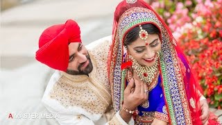 getlinkyoutube.com-Sikh Wedding  Sukhwinder weds Navdeep