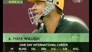 getlinkyoutube.com-Mark Waugh 173 vs West Indies 2000/01 MCG