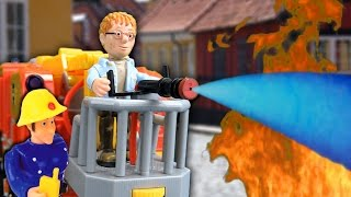 getlinkyoutube.com-Feuerwehrmann Sam - Feuer in der Bank - Pandido TV