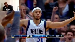 getlinkyoutube.com-SETH CURRY HITS A THREE POINTER TO FORCE OVERTIME!! THERE IS ANOTHER!! BABY BROTHER CURRY IS CLUTCH!