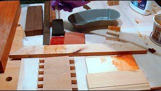 getlinkyoutube.com-Искусственное старение древесины своими руками. Столярные Хитрости.