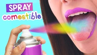 getlinkyoutube.com-SPRAY COMESTIBLE CASERO ¡Pinta tu comida fácil! ✄ Craftingeek
