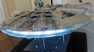 getlinkyoutube.com-Hasbro Millennium Falcon Conversion; Completion