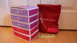 getlinkyoutube.com-Opening American Girl Truly Me Items!